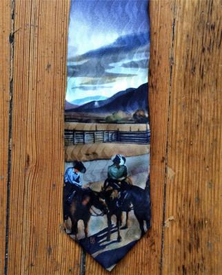 Cattleman Conference Silk Tie