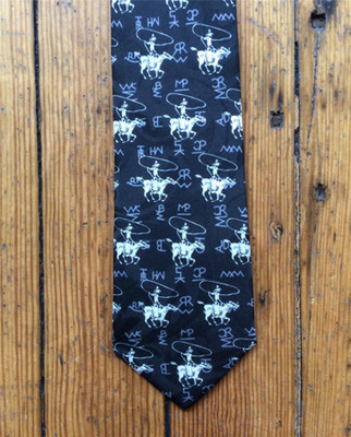 Roper & Brands Tie - Black