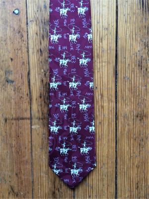 Roper & Brands Tie - Burgundy