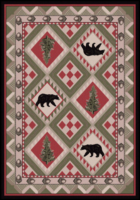 Quilted Forest - Pine