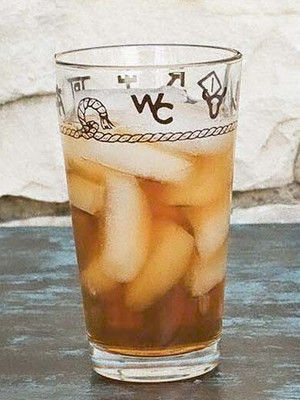 Ropes & Brands Water / Iced Tea Glasses - 20 oz. (Set of 4)