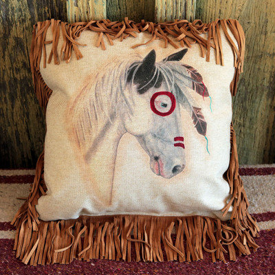 Brave Pony Pillow