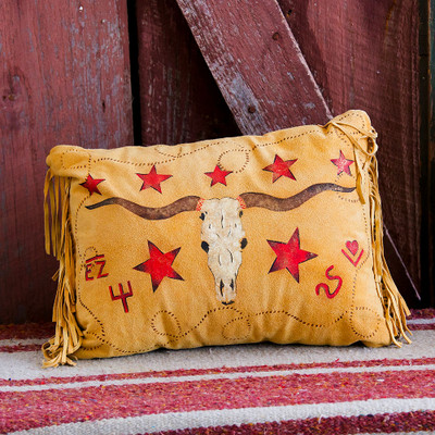 Longhorn Accent Pillow