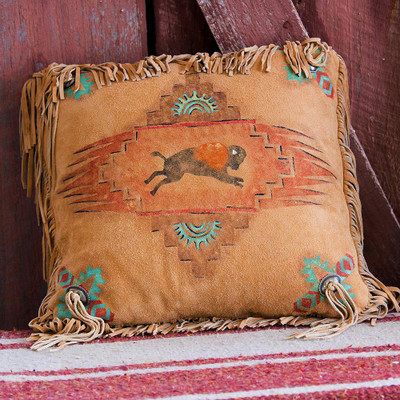 Buffalo Spirit Pillow