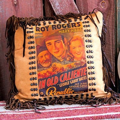 Roy Rogers Poster Pillow