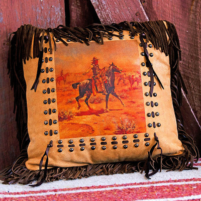 The Cowboy Pillow