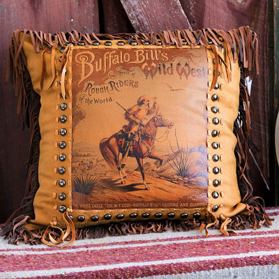Buffalo Bill Poster Pillow