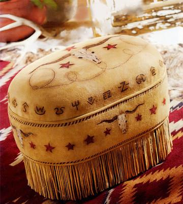 Longhorn Ottoman