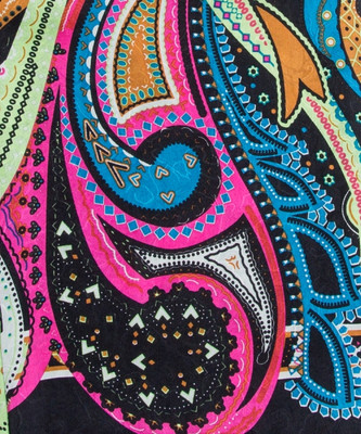 Charmeuse Silk Wild Rags #9- J-Dazzle