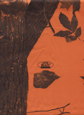 Wild Rags Silk Scarf Camouflage - Blaze