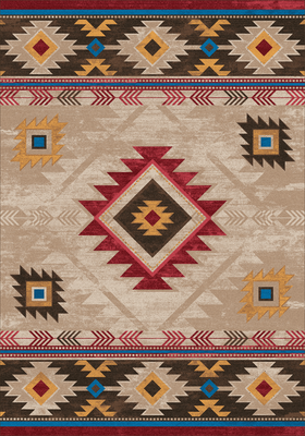 American Dakota Rug - Whisky River - Natural