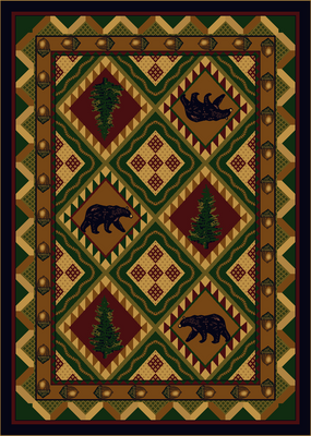 Quilted Forest - Woodland