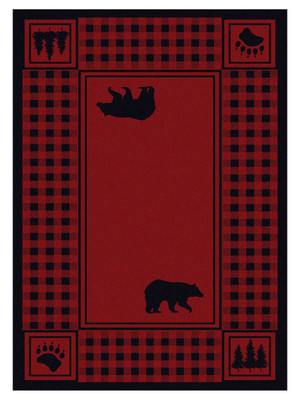 Bear Refuge - Red
