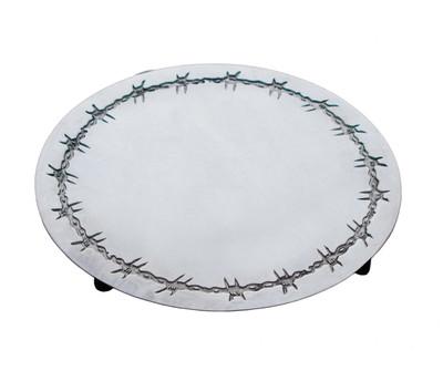 Barbwire Trivet/Hot Plate