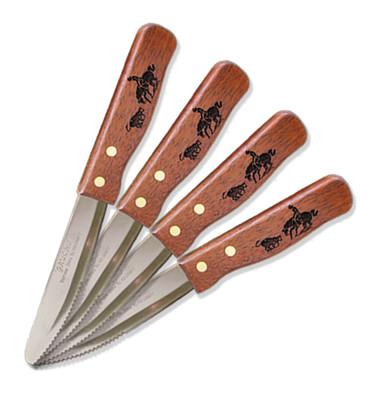 Cutting Horse Steak House-Style Steak Knifes 4 Piece