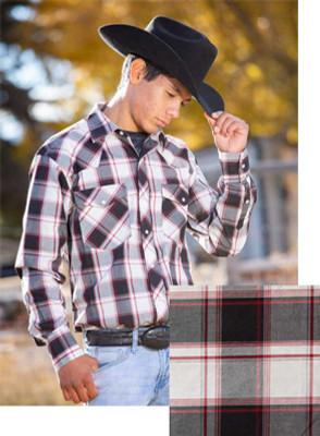 Wyoming Traders Printed Black/White Shirt