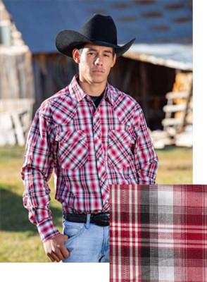 Wyoming Traders Printed Red/Black Shirt