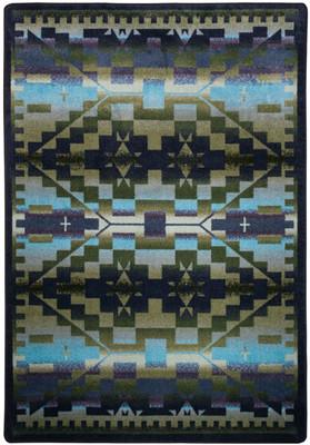 Rainbow Blanket  - Blue Shades