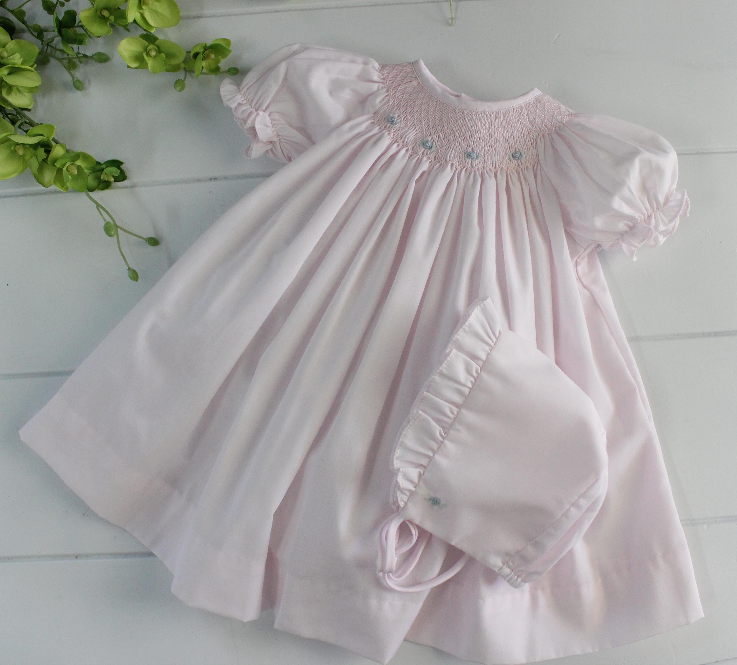c38af5276 Infant Girls Day Gowns Make Beautiful Take Home Outfits - Hiccups ...