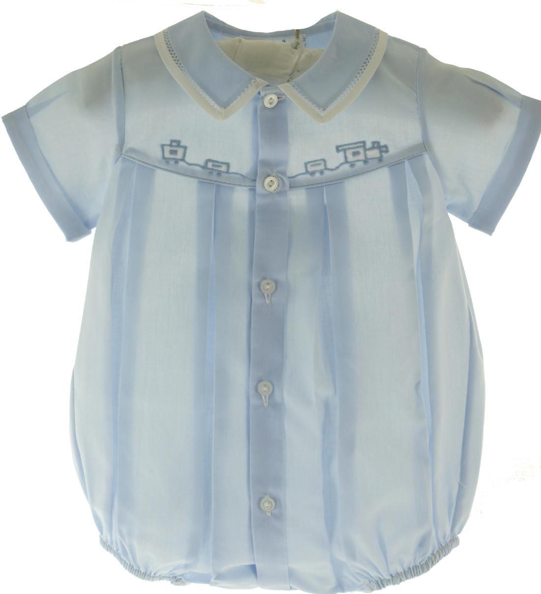 Shop Cute Newborn Clothes for Boy with Train!   Feltman ...