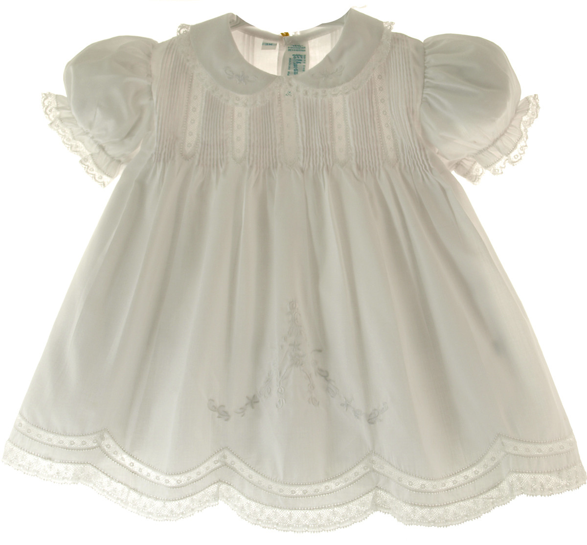 White Slip Dress For Baby Girl Feltman Brothers Vintage Clothes