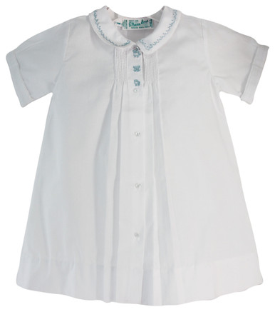 Feltman Brothers Newborn Boys Train Daygown