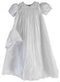 Girls Christening Gown Peter Pan Collar Feltman 5974