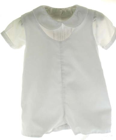 Infant Boys White Baptism Outfit - Petit Ami