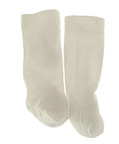 Infant Boys White Knee Hi Socks Jefferies Socks