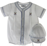 Boys Baseball Bubble Outfit
