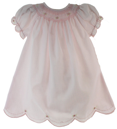 Newborn Girls Pink Daygown by Rosalina