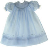 Girls Blue Bishop Dress