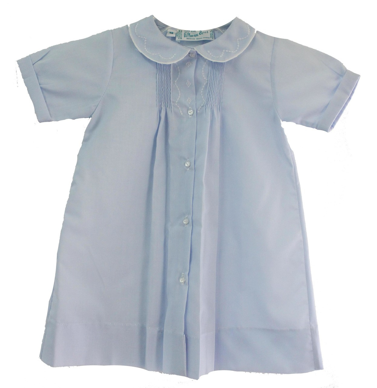 6001db383af Feltman Brothers Newborn Boys Blue Daygown Coming Home Outfit ...