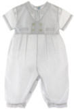 Boys White Baptism Longall Outfit