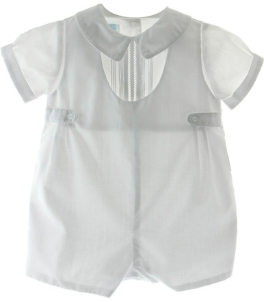 Boys Christening Shortall Peter Pan Collar