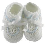 Newborn Baby  Booties for Boy