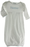 Newborn Boys Personalized Layette Gown