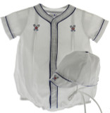 Newborn Boys Baseball Outfit