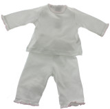 Pink Pants Layette Set