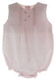 Girls Pink Layette Bubble