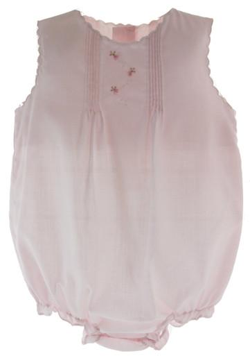 Girls Pink Layette Bubble