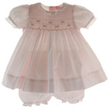 Infant Pink Portrait Dress