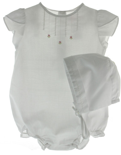 Girls White Angel Wing Bubble Outfit