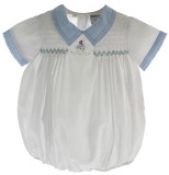 Boys Sailboat Bubble Outfit