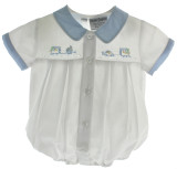Boys Preemie Bubble Outfit