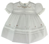 White Vintage Baby Dress