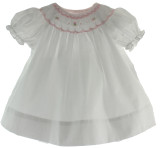 White Baby Bishop Dress