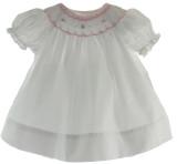 White Baby Bishop Dress