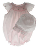 Smocked Bubble Outfit & Bonnet