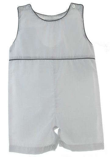 Boys White Linen Outfit